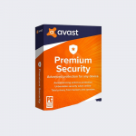 Avast Premium Security Multi-Device  for Windows, macOS, iOS, Android (10 DEVICES/1YR)