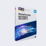 Bitdefender Internet Sec  for Windows 1PC/1YR
